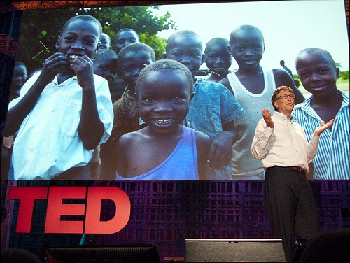 Bill Gates promotes more vaccines, not nutrition or clean water, for children in Third World countries.